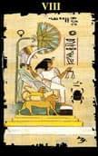 tarot egipcio La Justicia