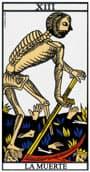 tarot de marsella La Muerte