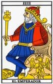 tarot de marsella El Emperador